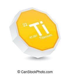 titanium button