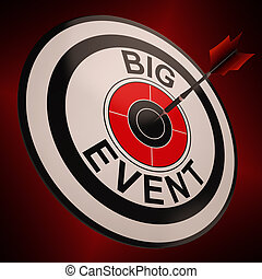 Big Event Shows Upcoming Festival - Big Event Target Showing...