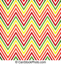 Colorful zigzag seamless pattern Chevron pattern