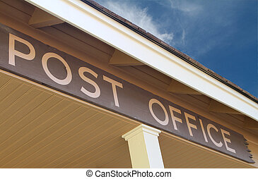 Post Office  - A post office sign