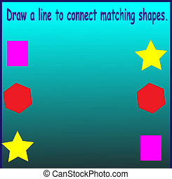 connect shapes