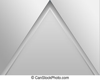 Abstract Shapes Triangle (Pyramid) Background - Abstract...