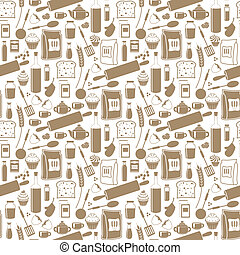 Seamless products pattern
