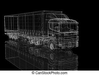 Cargo Delivery Vehicle, body structure