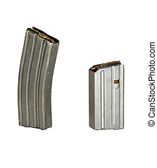 Two High Capacity Magazines - A 30 round and 20 round high...