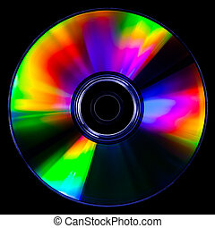 Psychedelic CD - Satured colors for this CD photography on...