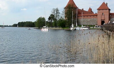 trakai yacht people