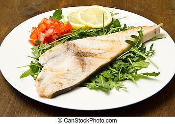 roasted swordfish