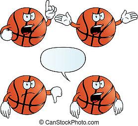 Angry basketball set