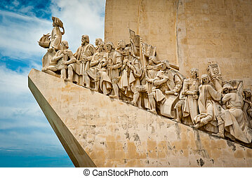 Monument to the Discoveries - The Padrao dos Descobrimentos...