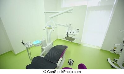 Digital control units for medical equipment in dental...