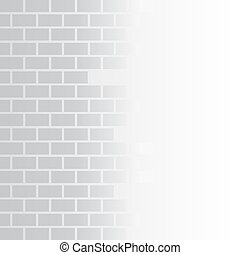 Grey brick background stock vector