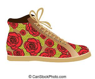 fashion shoes - Illustration of fashion icons, fashion...