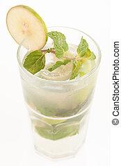 Refreshing Mojito cocktail - Mojito a Cuban cocktail made...