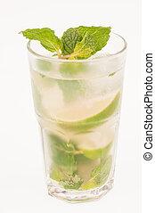 Mojito Cocktail - Mojito a Cuban cocktail made with cuban...