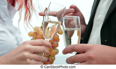 Love dating with champagne
