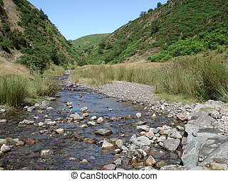 Carding Mill Valley Stream 2 - View of the Carding Mill...
