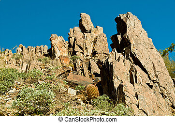 Rock Formation - Beautiful Rock Formation on Piestewa /...