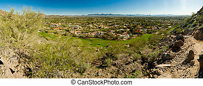 Arizona Panoramic - Panoramic of Scottsdale, Paradise...