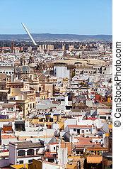 City of Seville Cityscape