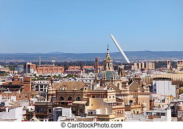 City of Seville in Andalusia