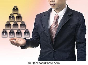 empresa / negocio, hombre, gente, organización