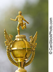 Trophy for winning the Cup