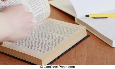 read an interesting book