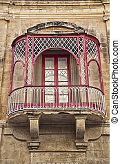 Maltese Balconey - Typical Maltese balcony in an apartment...