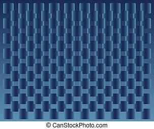 azul, cuadrados, Plano de fondo, transición