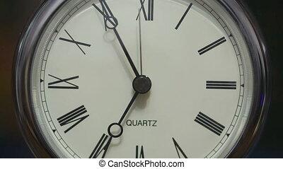 Fast-running clock - Close-up of Fast-running clock