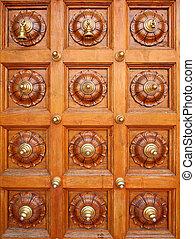 Doorway - Ornated door of the hindu temple