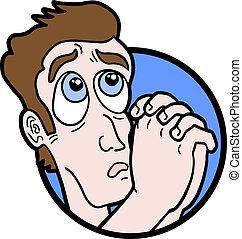 Supplicate man - Creative design of supplicate man