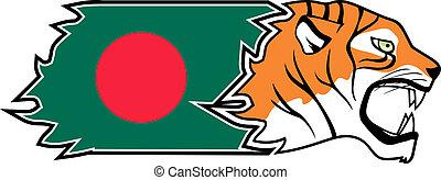 Tiger Bangladesh - Creative design of tiger of Bangladesh