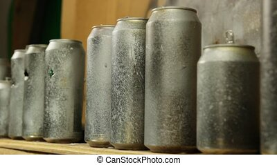 rifle range - tin can shooting