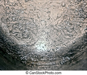 high rolling boil - abstract image of pot of water being...