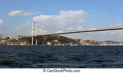 Bosporus Bridge time lapse - time lapse Bosporus Bridge at...