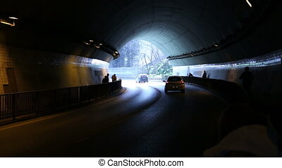 tunnel - city road tunnel