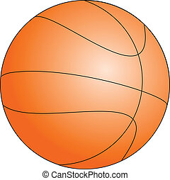 basket ball - Basket ball vector illustration