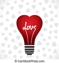 heart shape bulb