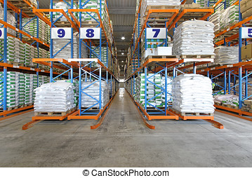 Warehouse shelving system - Distribution warehouse shelving...