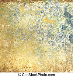 grunge vintage wallpaper - highly detailed image of grunge...