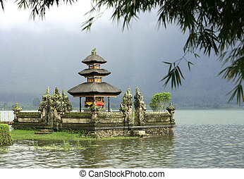 Ulun Danu Bedungul - Bali water temple at bratan lake, ulun...