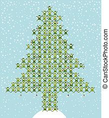 Santa's Elf Doing Christmas Tree