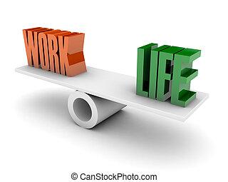 Work and Life balance.