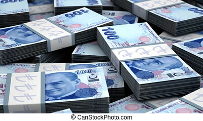 Billion Turkish Lira seamless