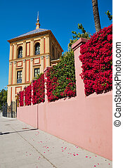 Wall San Telmo Palace - The palace is one of the emblematic...