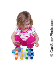 Toddler Motor Skills - Toddler learning motor skills by...