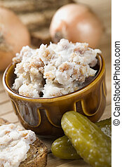 Lard with cracklings