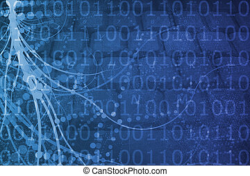 Biotech Futuristic Alien Background - A Biotech Futuristic...